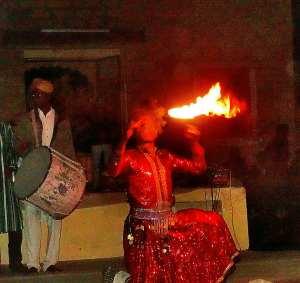 fiery folk dancer